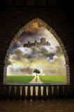 Fantasy archway Royalty Free Stock Image