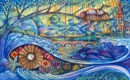 Fantasy Art. Stock Photo