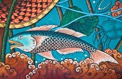 Fantasy art paint Stock Photo