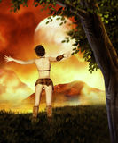 Freedom. Fantasy art for your projects and/or your pleasure Royalty Free Stock Images