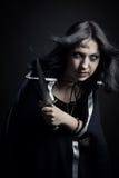 Fantasy assassin Stock Photo