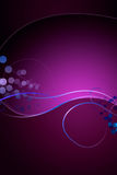 Fantasy Background. A decorative background in purple colors Royalty Free Stock Photos