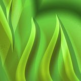 Fantasy background green yellow Royalty Free Stock Photo