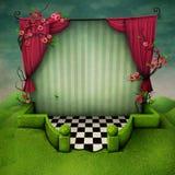 Fantasy background Wonderland royalty free illustration