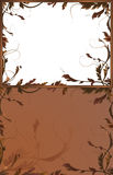 Fantasy backgrounds with brown branches Royalty Free Stock Photos