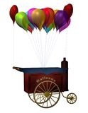 Fantasy balloon stand Royalty Free Stock Photo