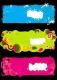 Fantasy banners Stock Photos