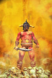 Fantasy barbarian warrior Stock Images