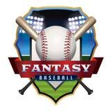 Fantasy Baseball Emblem Illustration Stock Photography