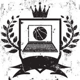 Fantasy basketball champion Stock Photography