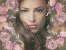 Fantasy beauty royalty free stock image