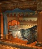 Fantasy bedroom 3 Stock Image