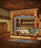 Fantasy bedroom 4 Stock Image
