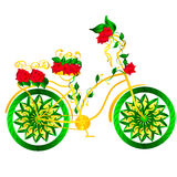 Fantasy bicycle royalty free stock images