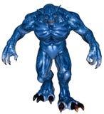 Fantasy big monster vector illustration