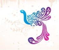 Fantasy bird Stock Images