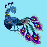 Fantasy bird. Fantastic bird in decorative style Stock Image