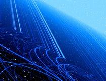 Fantasy blue background Stock Images