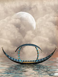 Fantasy boat Royalty Free Stock Image