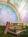 Fantasy books Stock Image