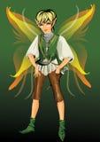 Fantasy boy Royalty Free Stock Image