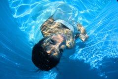 Fantasy bride underwater Stock Photo