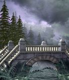 Fantasy bridge 1 Royalty Free Stock Photos