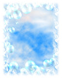 Fantasy Bubble Background. A Fantasy looking bubble frame stock illustration