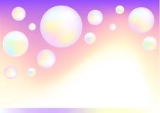 Fantasy bubbles Stock Photography