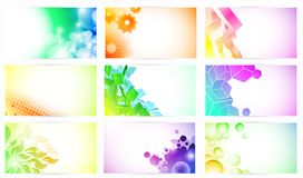 Fantasy Business Cards Stock Images