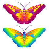 Fantasy Butterflies Royalty Free Stock Image