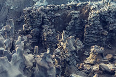 Fantasy canyon Stock Images