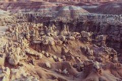 Fantasy canyon Stock Image