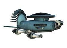 Fantasy Cargo Starship Royalty Free Stock Photography