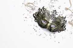 Fantasy carnival masks Stock Photo