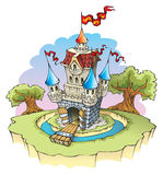 Fantasy castle Royalty Free Stock Photography