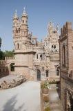 Fantasy Castle. A fantasy castle tourist landmark found in Benalmadena Spain, comemerating Christopher Columbus Royalty Free Stock Photo
