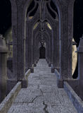 Fantasy Castle. 3D Render of an Fantasy Castle Royalty Free Stock Image