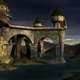 Fantasy Castle Royalty Free Stock Image