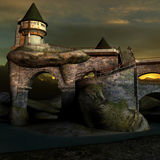 Fantasy Castle Royalty Free Stock Photos