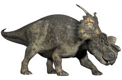 Fantasy centrosaurus. 3D render of a fantasy centrosaurus Stock Photo