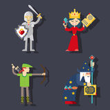Fantasy characters Royalty Free Stock Photography
