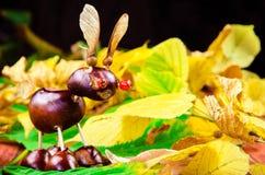 Fantasy chestnut animal figure Stock Image