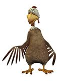 Fantasy chicken 1 Royalty Free Stock Images