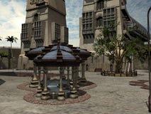 Fantasy City Stock Photography