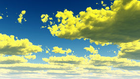 Fantasy Clouds Royalty Free Stock Images