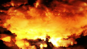 Fantasy clouds stock footage