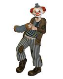 Fantasy clown Stock Images