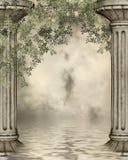 Fantasy column Royalty Free Stock Image