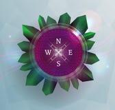 Fantasy compass Stock Image
